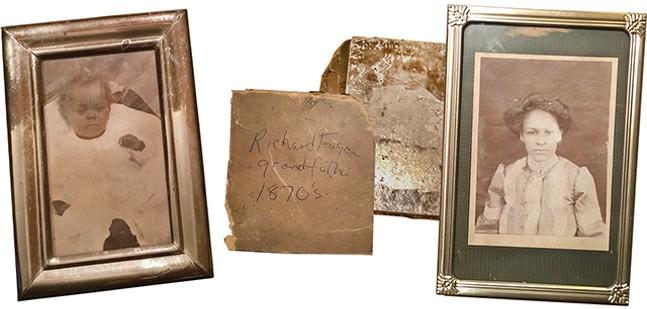 Fagan family memorabilia - PHOTOS COURTESY OF TERENEH IDIA