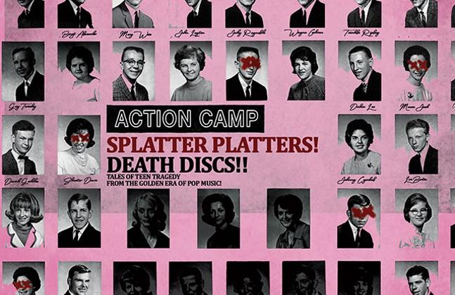 Action Camp 13th anniversary Death Disc Cover - BENGT ALEXSANDER