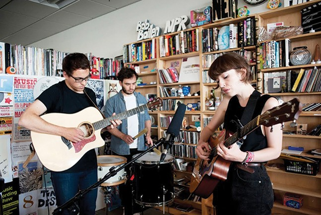 Daughter's NPR Tiny Desk performance