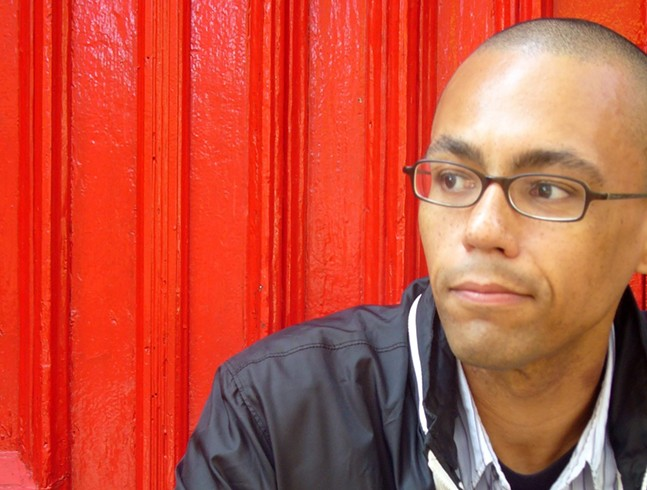 Victor LaValle in 2008. - VICTOR LAVALLE