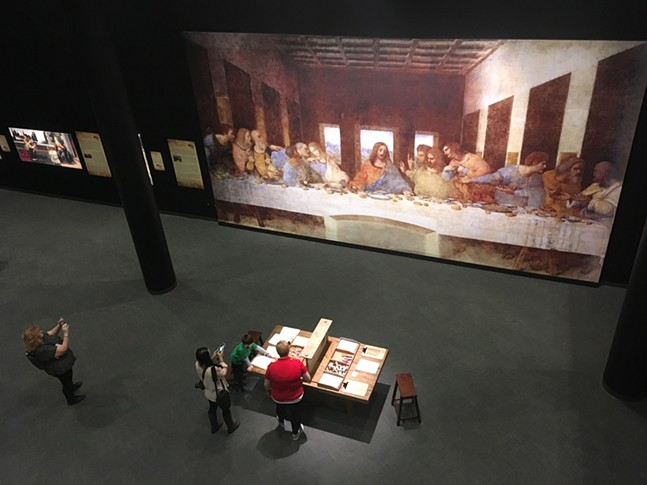 Da Vinci The Exhibition - CP PHOTO: AMANDA WALTZ