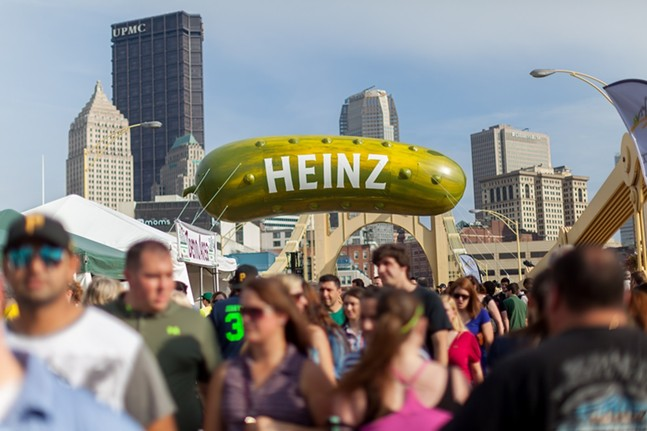 Picklesburgh - PHOTO: PITTSBURGH DOWNTOWN PARTNERSHIP