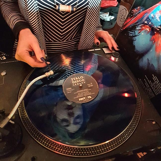 DJ Licia spinning Italo Disco Legacy OST - ALEX DENVER