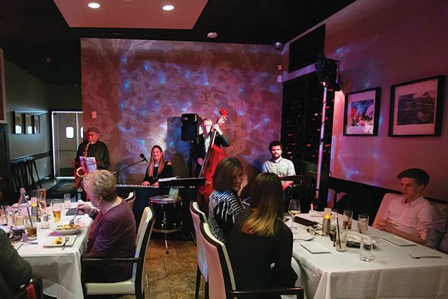 Jay Willis featuring The Jenny Wilson trio at Savoy's Monday Night Jazz. - CP PHOTO: JOHN COLOMBO