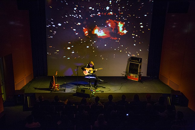 The Warhol Theater: Thurston Moore - SEAN CARROLL