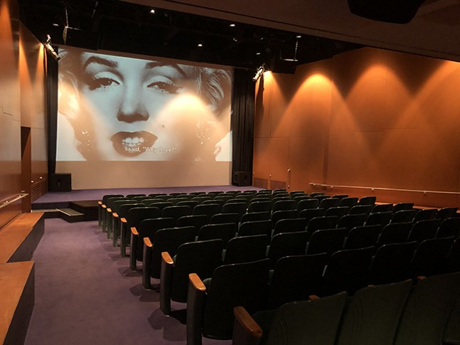 The Warhol Theater - CP PHOTO: JORDAN SNOWDEN