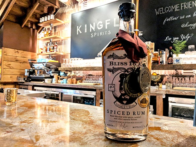 Spiced rum at Kingfly Spirits - CP PHOTO: MAGGIE WEAVER