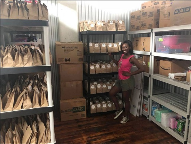 SisterFriend provides menstrual hygiene products to schools, homeless shelters, and other places in need