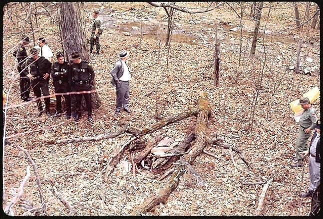 The search/discovery party outside Morgantown, circa 1970 - KROMATIC MEDIA