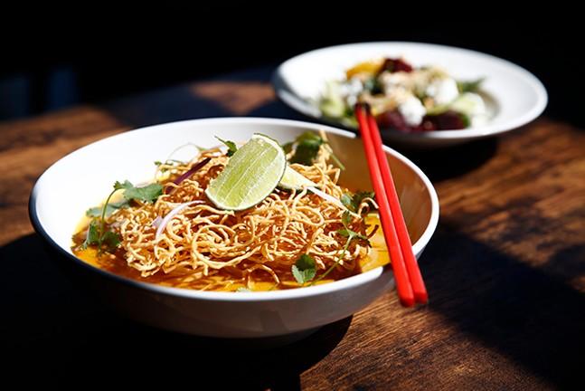 The Khao Soi dish at Fairlane - CP PHOTO: JARED WICKERHAM