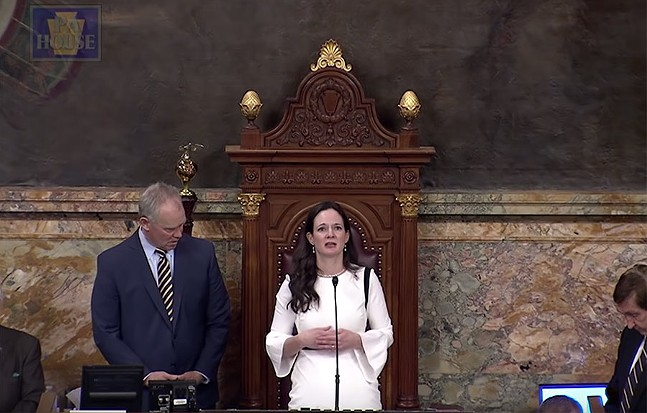 PHOTO: SCREENSHOT OF HOUSE OPENING PRAYER MARCH 25, 2019 YOUTUBE VIDEO