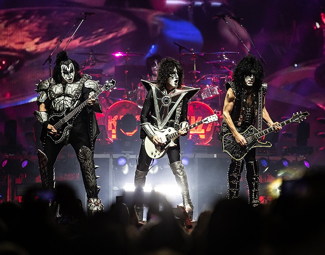 KISS at PPG Paints Arena on Sat., March 30, 2019 - CP PHOTO: MIKE PAPARIELLA