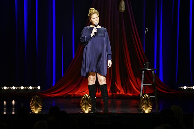 Amy Schumer's new stand-up special Growing - ELIZABETH SISSON/NETFLIX