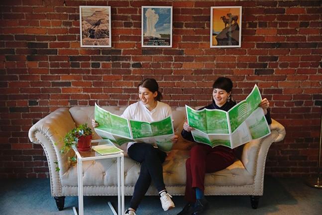 Ilana Curtis and Sarah Rafson - CP PHOTO: JARED WICKERHAM