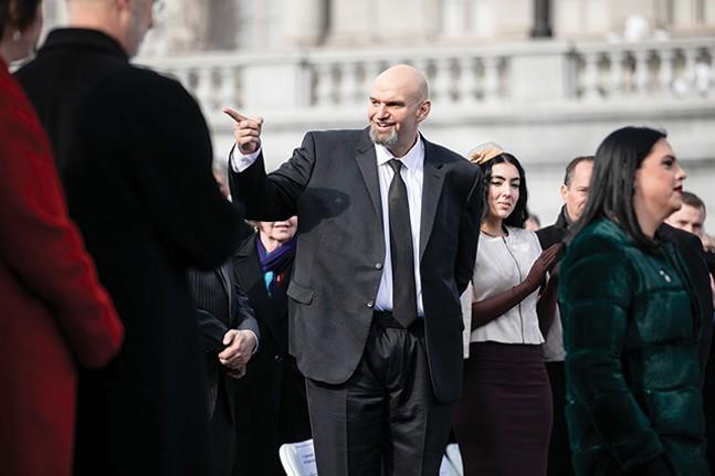 John Fetterman - OFFICIAL GOV. TOM WOLF PRESS PHOTO
