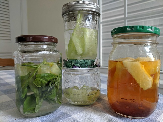 Homemade infusions - CP PHOTO: MAGGIE WEAVER