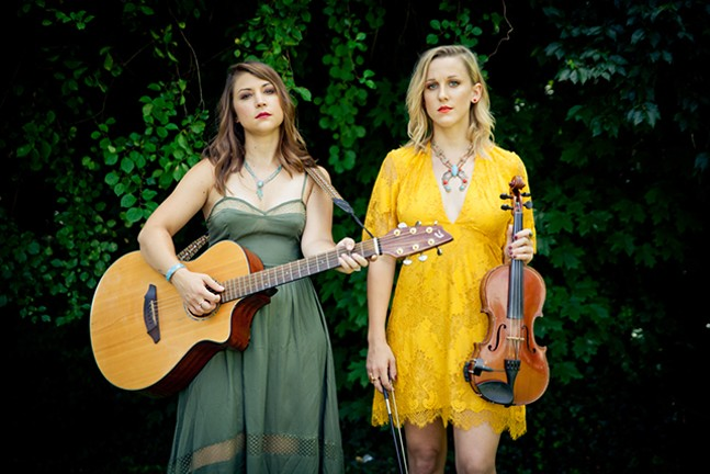 Hayley Prosser and Sara Zebley