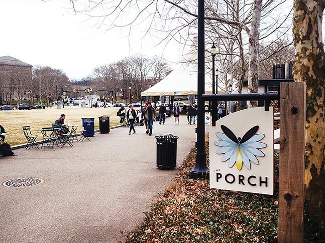 The Porch restaurant in Schenley Plaza - CP PHOTO: JARED MURPHY