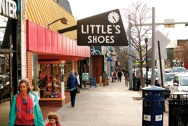 Littles Shoes - CP PHOTO: JARED WICKERHAM
