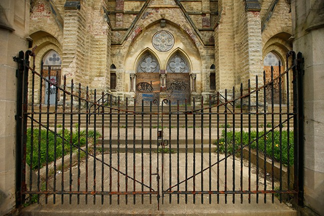 The St. Peter and Paul Roman Catholic Church in East Liberty - CP PHOTO: JARED WICKERHAM