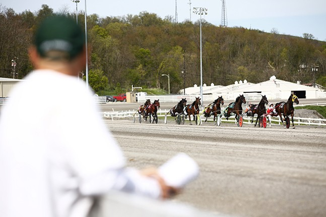 The Meadows Racetrack & Casino - CP PHOTO: JARED WICKERHAM