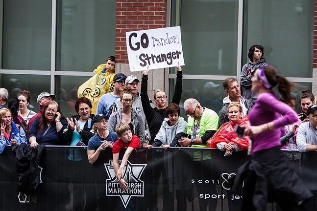 Scenes from past Pittsburgh Marathons - CP PHOTOS: LUKE THOR TRAVIS