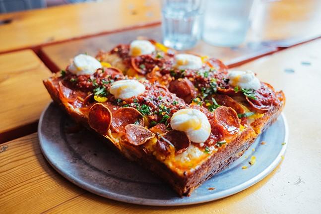 Iron Born pizza - CP PHOTO: JARED MURPHY
