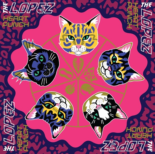 """The Lopez """"Heart Punch"""" Album Cover"""