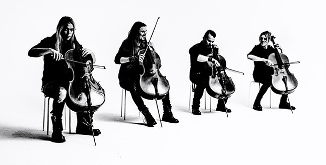 Apocalyptica - PHOTO: VILLE JUURIKKALA