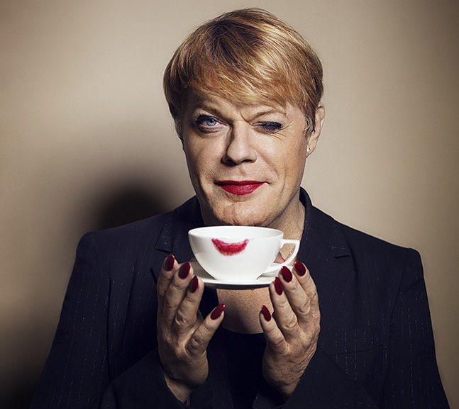 Eddie Izzard - PHOTO: AMANDA SEARLE