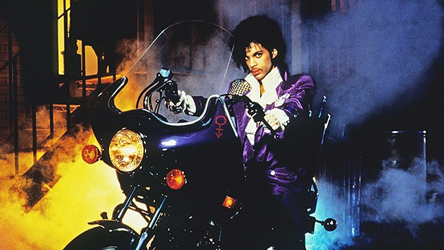 Purple Rain  - PHOTO: THE RANGOS GIANT CINEMA