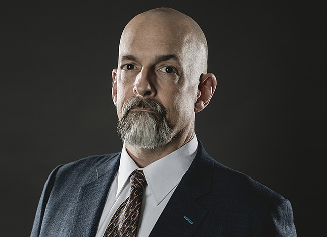 Neal Stephenson - PHOTO: BRADY HALL