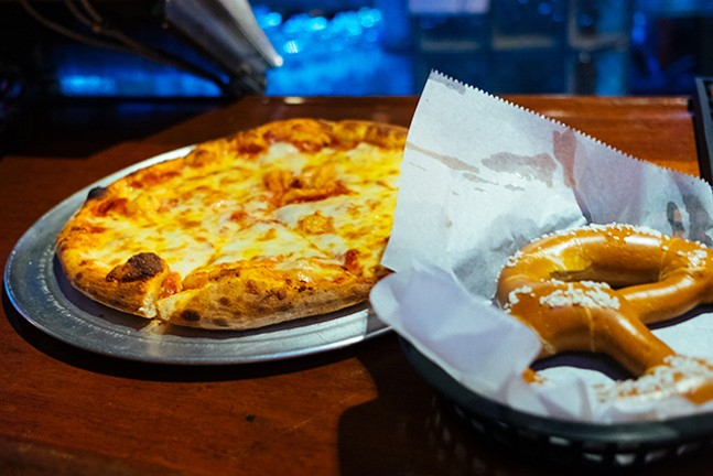 Cap: A cheese pizza at Cattivo - CP PHOTO: JARED MURPHY