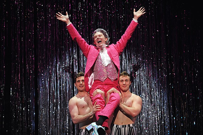 Clay Aiken in Grease - PHOTO: MATT POLK