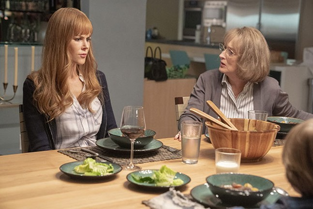 Nicole Kidman and Meryl Streep in Big Little Lies season two - JENNIFER CLASEN/HBO