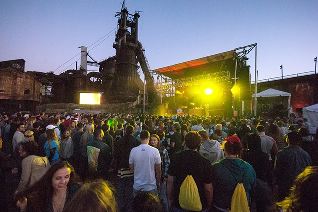 Thrival 2017 at Carrie Furnaces - CP PHOTO: JAKE MYSLIWCYZK