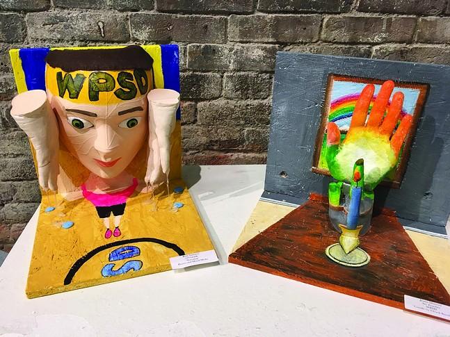 De'VIA artwork done by Western Pennsylvania School for the Deaf students - DE'VIA/WESTERN PENNSYLVANIA SCHOOL FOR THE DEAF