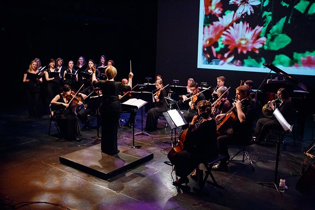 The Resonance Chamber Orchestra performs with vocalists. - PHOTO: ALISA INNOCENTI
