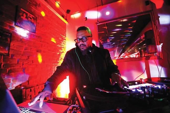 DJ Nate Da Barber hosts Carmi's Supper Club. - CP PHOTO: JARED WICKERHAM