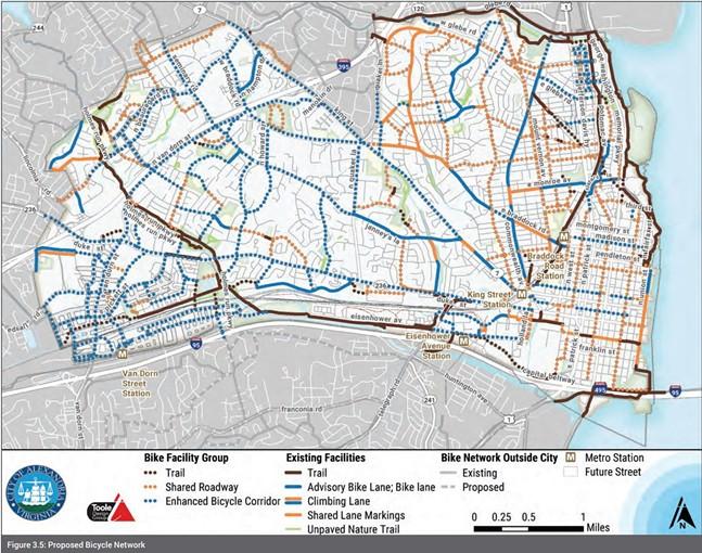 Alexandria's bike master plan