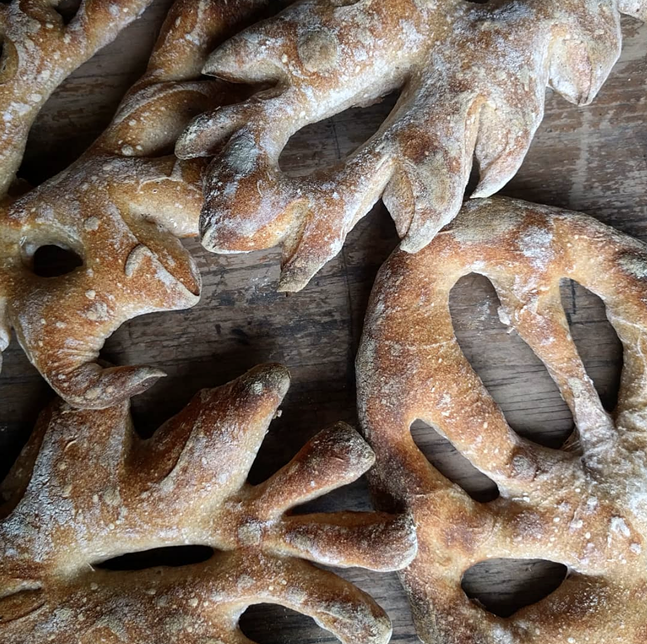 Fougasse from Crust Worthy - PHOTO: CRUST WORTHY