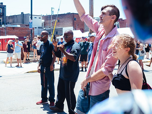 Music fans filled the streets for the seventh annual Deutschtown Music Festival on Sat., July 13. - CP PHOTO: JARED MURPHY