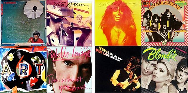 Album covers designed by John Van Hamersveld