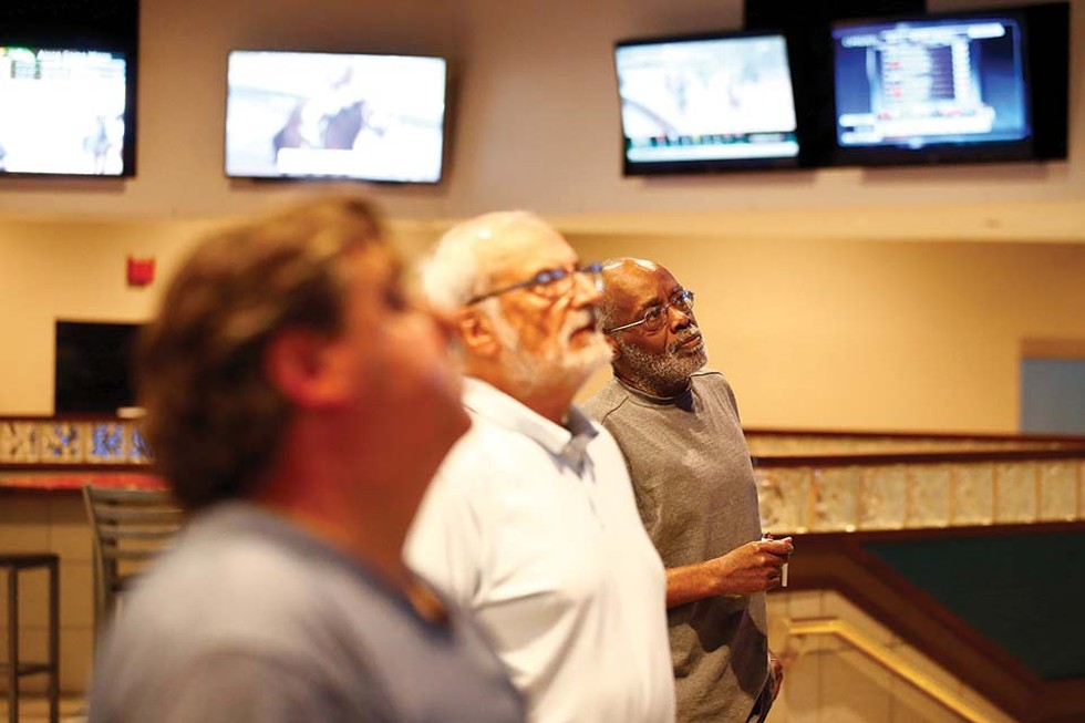 Off-track betting at Meadows Harmar - CP PHOTO: JARED WICKERHAM