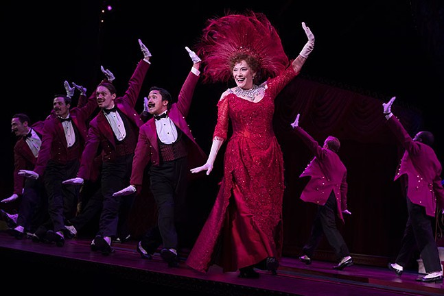 Betty Buckley in Hello, Dolly!  - PHOTO: JULIETA CERVANTES
