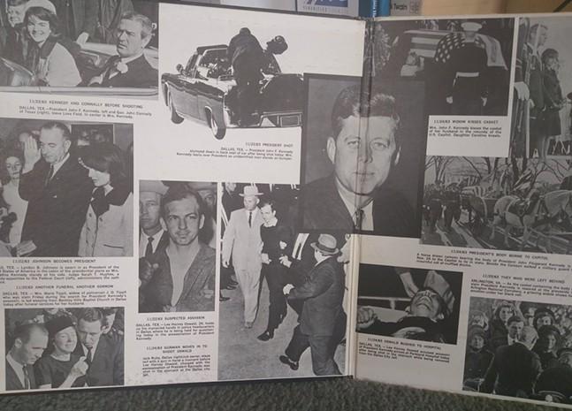 Thirfted JFK assassination record, courtesy of Twitter user, MrHenry - PHOTO: TWITTER (@HENRYLEONJR)