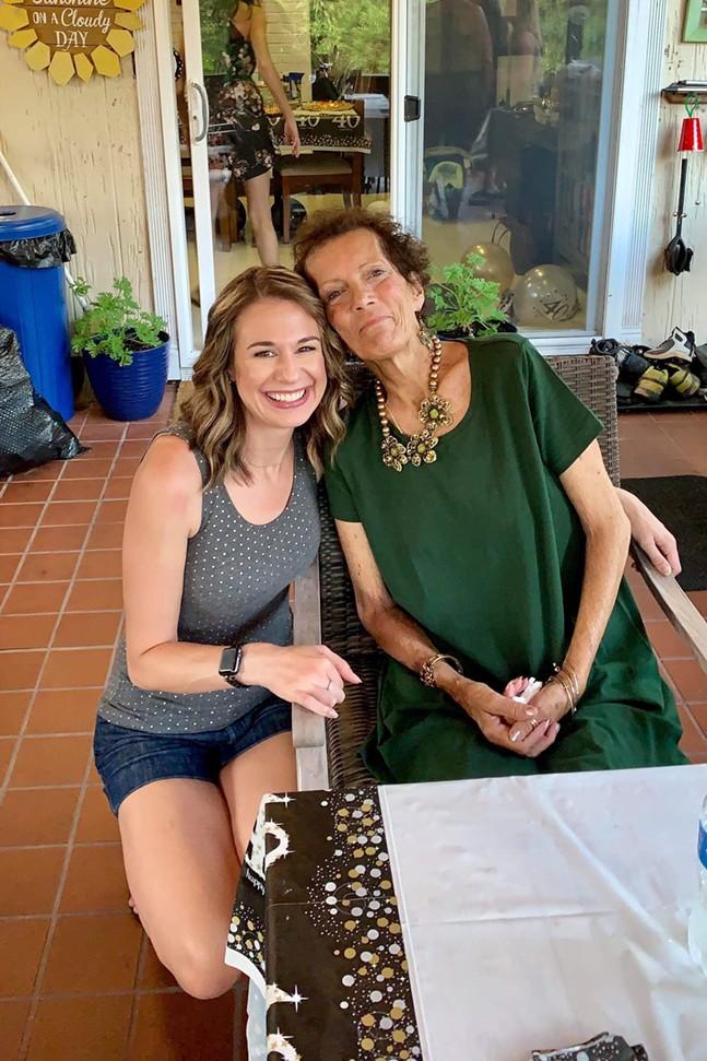 Sara Booz and Marylou Hunt - PHOTO: SARA BOOZ