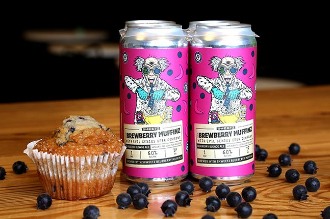 Brewberry Muffinz, Sheetz's new beer - PHOTOS: SHEETZ