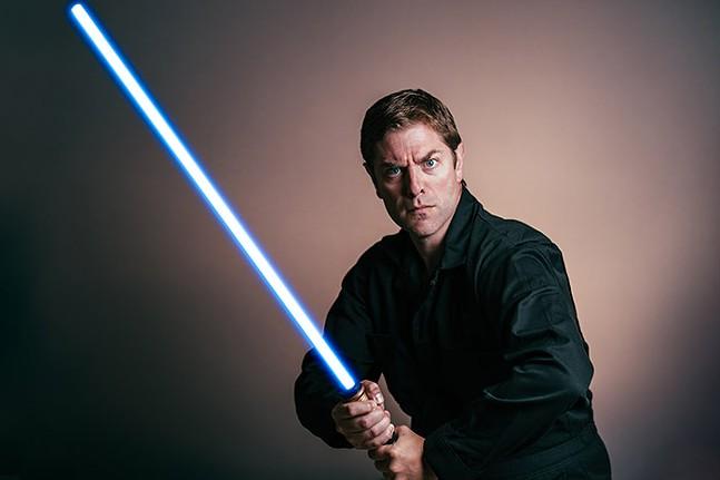 Charles Ross in One-Man Star Wars Trilogy - DEAN KALYAN