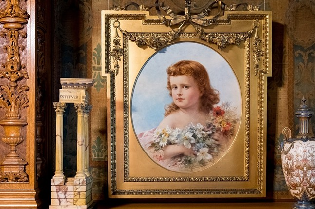 Théobald Chartran's portrait of Henry Clay Frick's daughter Martha Howard Frick, who died in childhood. - PHOTO: FRICK ART & HISTORICAL CENTER